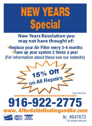 Coupons Amp Special Offers 916 922 2775 Sacramento A C